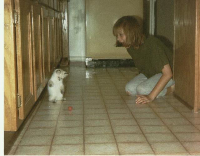 Looking Back: My First Cat