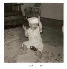 Scott-11 Months Old with Hat