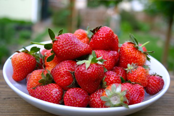 Strawberries- Bowl