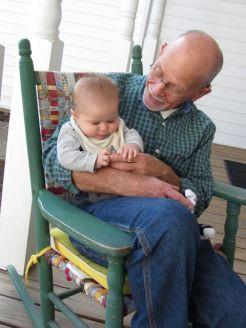 Grandpa, you have big hands!