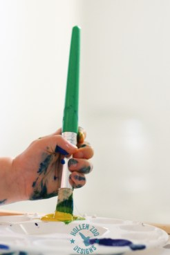 Painting With Tempra Paint (9 of 22)