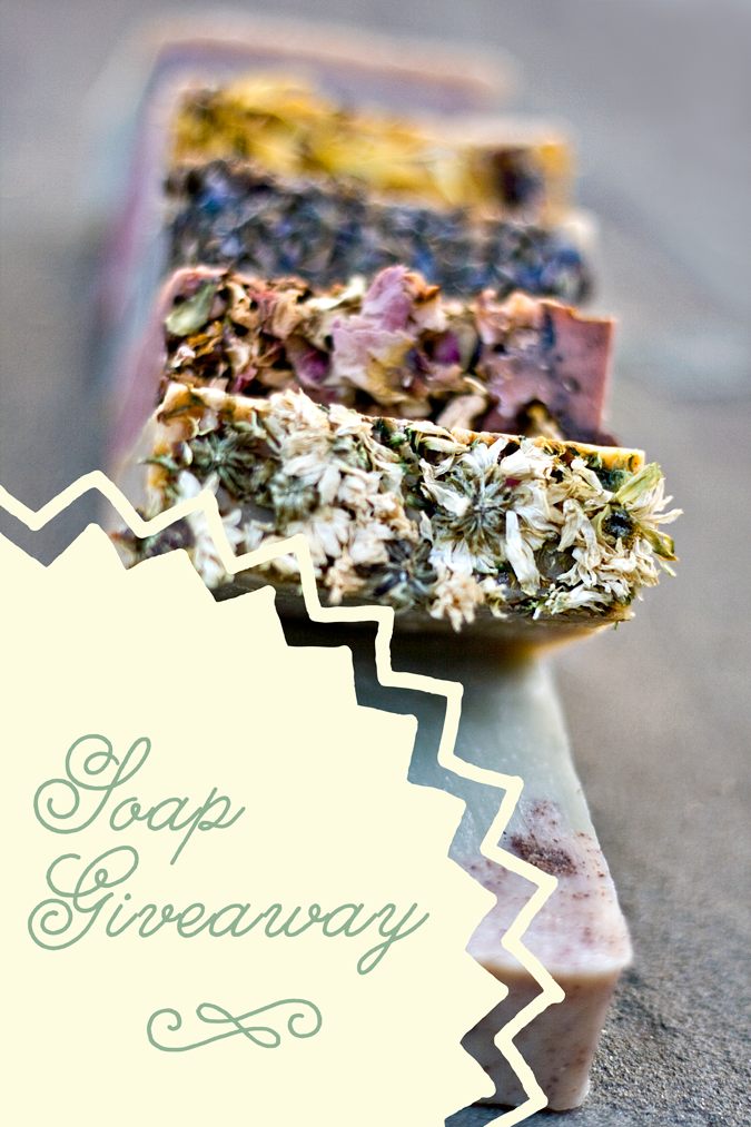 Jackson Sage Soap Giveaway.  Enter to win 5 bars of pure relaxation!