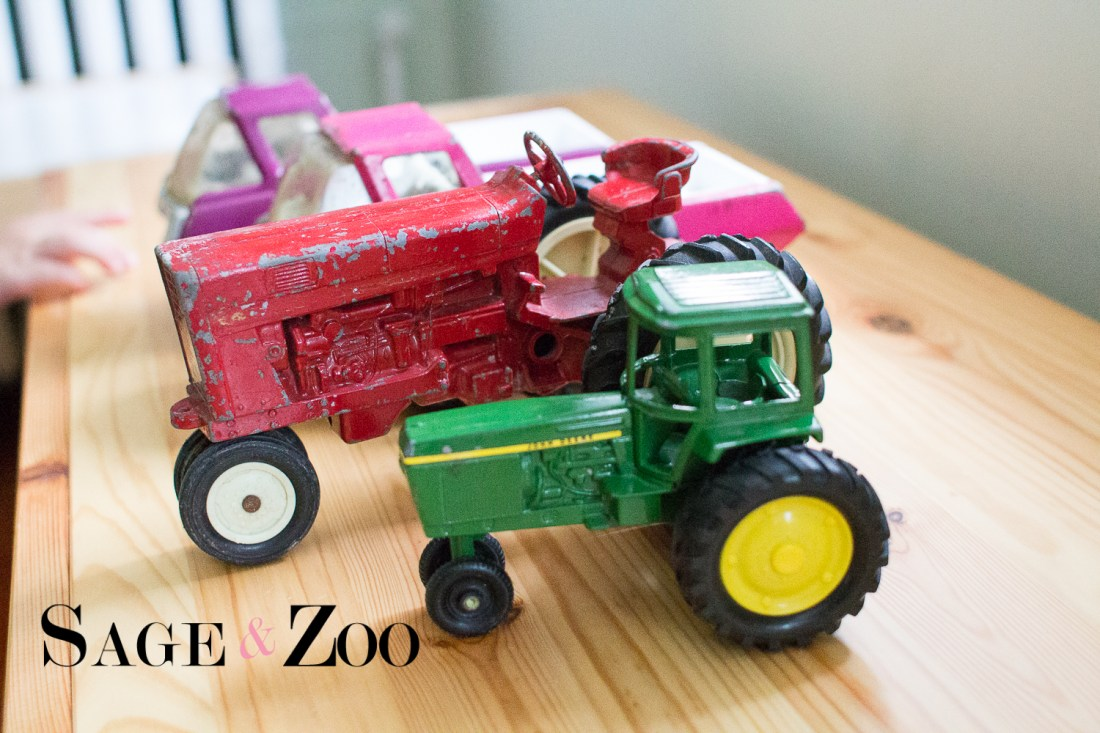 Active Play- Farm Them- Tractors