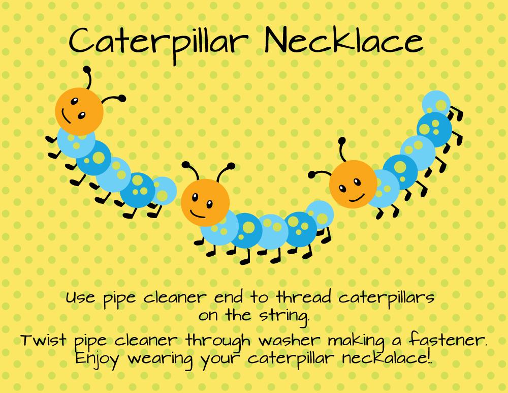 Caterpillar-Necklace