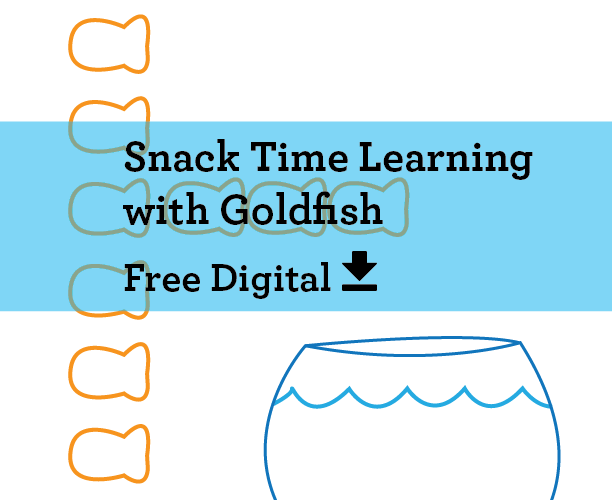 Snack Time Learning with Goldfish