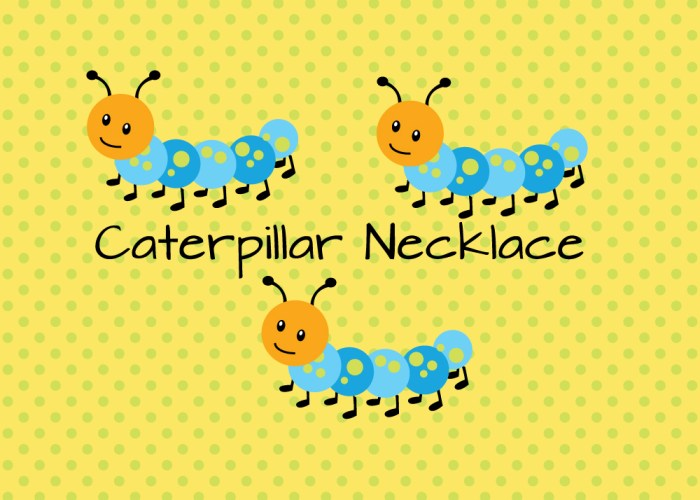 Caterpillar Necklace