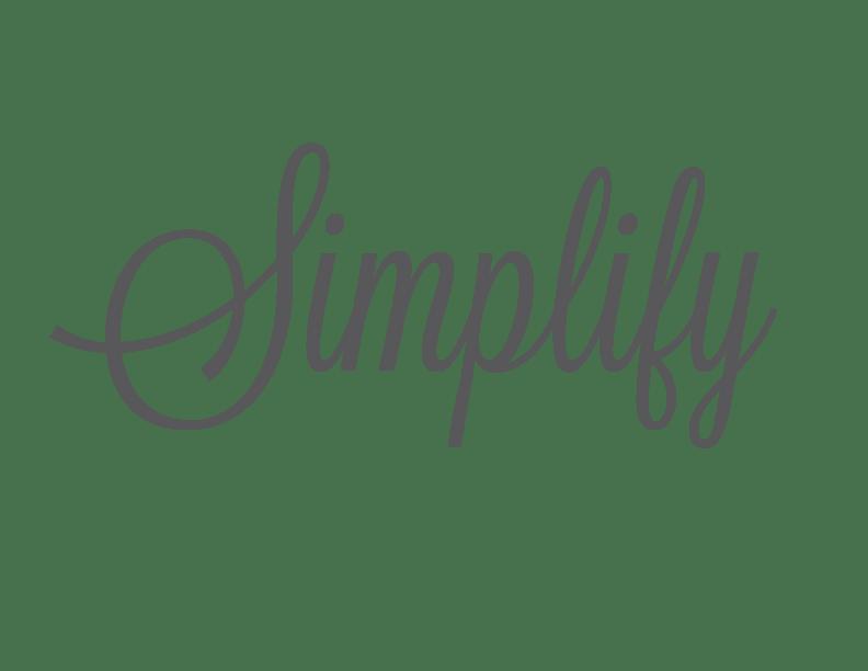Simplify-