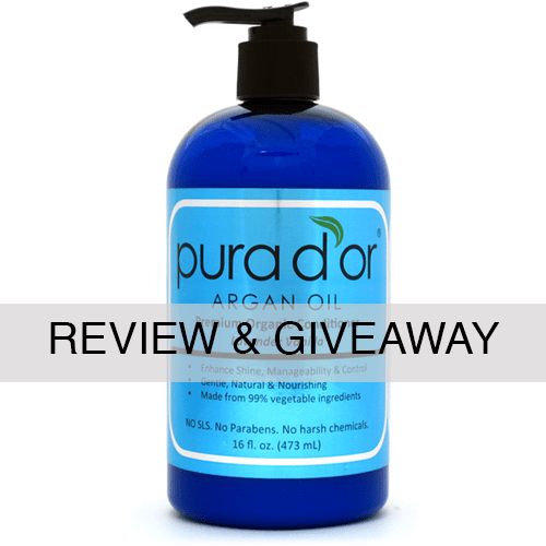 Pura D'or Organic Argan Oil Conditioner Review & Giveaway