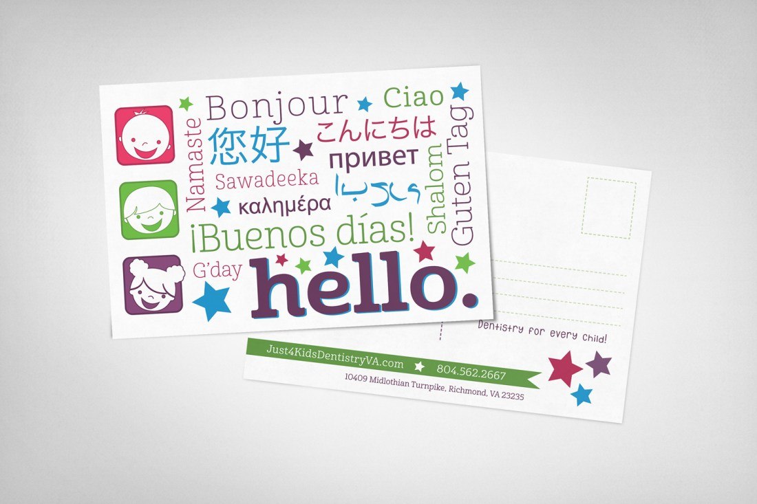 Just-4-Kids-Hello-Postcard