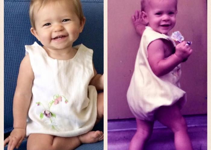 Same age & same outfit