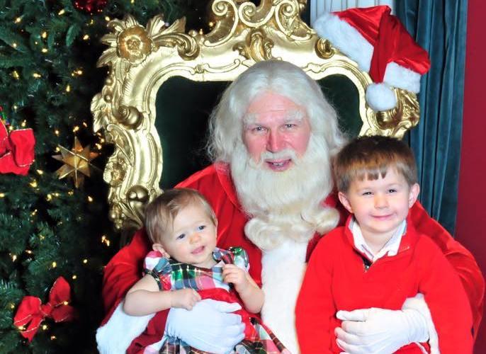 Santa visit 2015