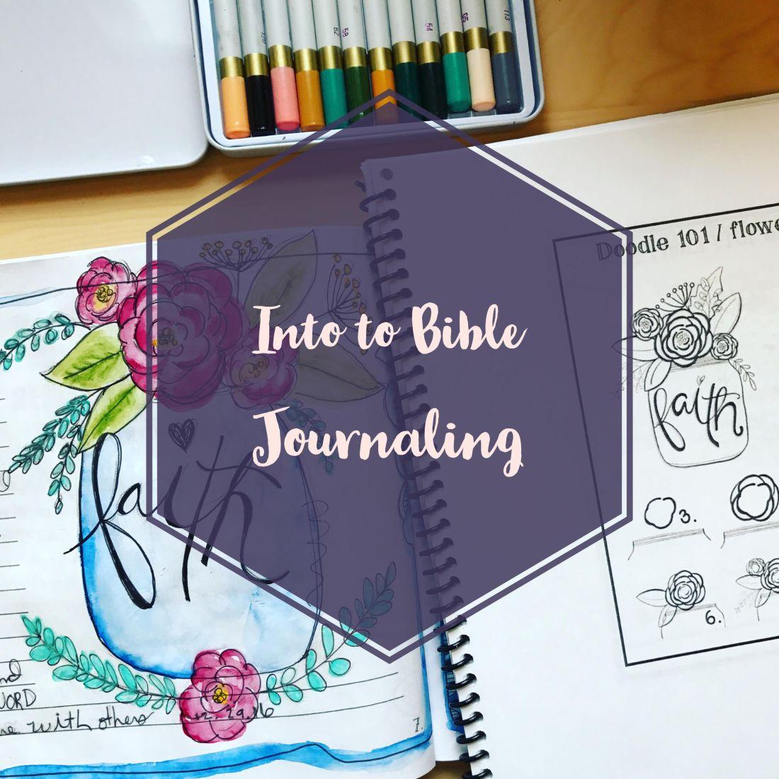 Bible Journaling Workshop Richmond VA