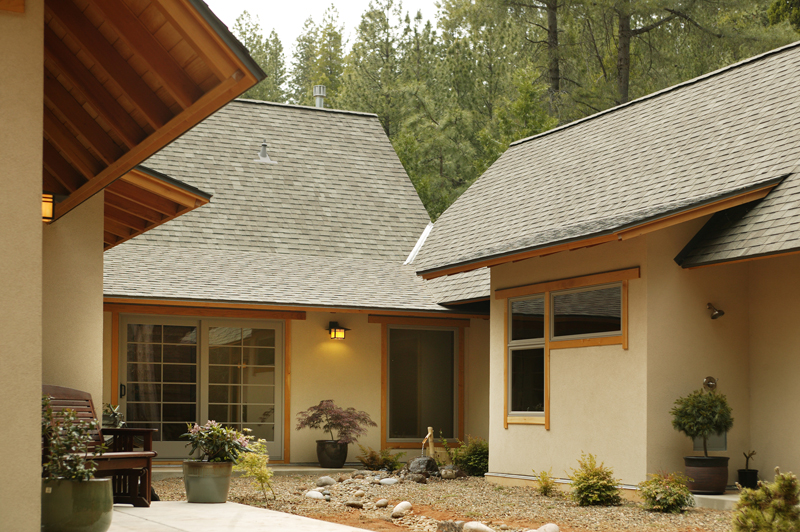 Sage Architecturejapanese Courtyard House Amador County