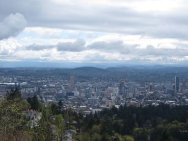 Overlooking Portland