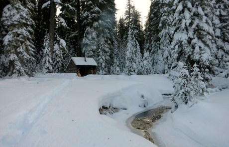 Snow & Woodsmoke