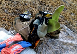 rotating socks and drying insoles
