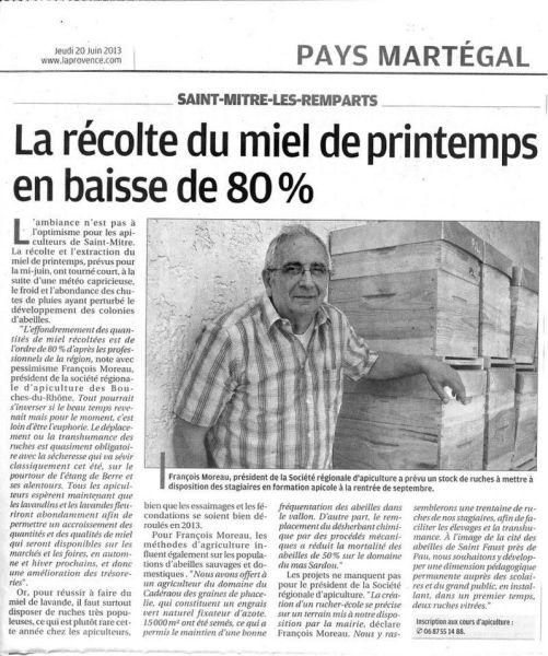 La-Provence-20-06-2013-Saint-Mitre-les-remparts-Miel-de-printemps-en-baisse-de-80-PC.jpg
