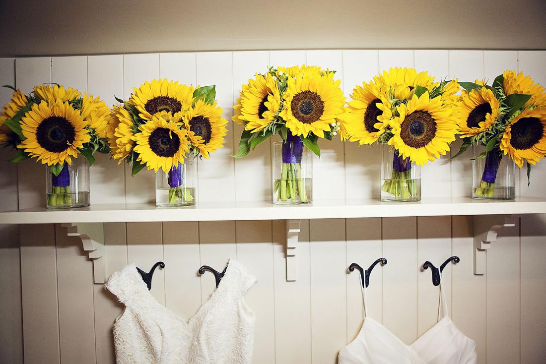 Matt And Kristy's Sunflower Wedding: The 'real' Photos