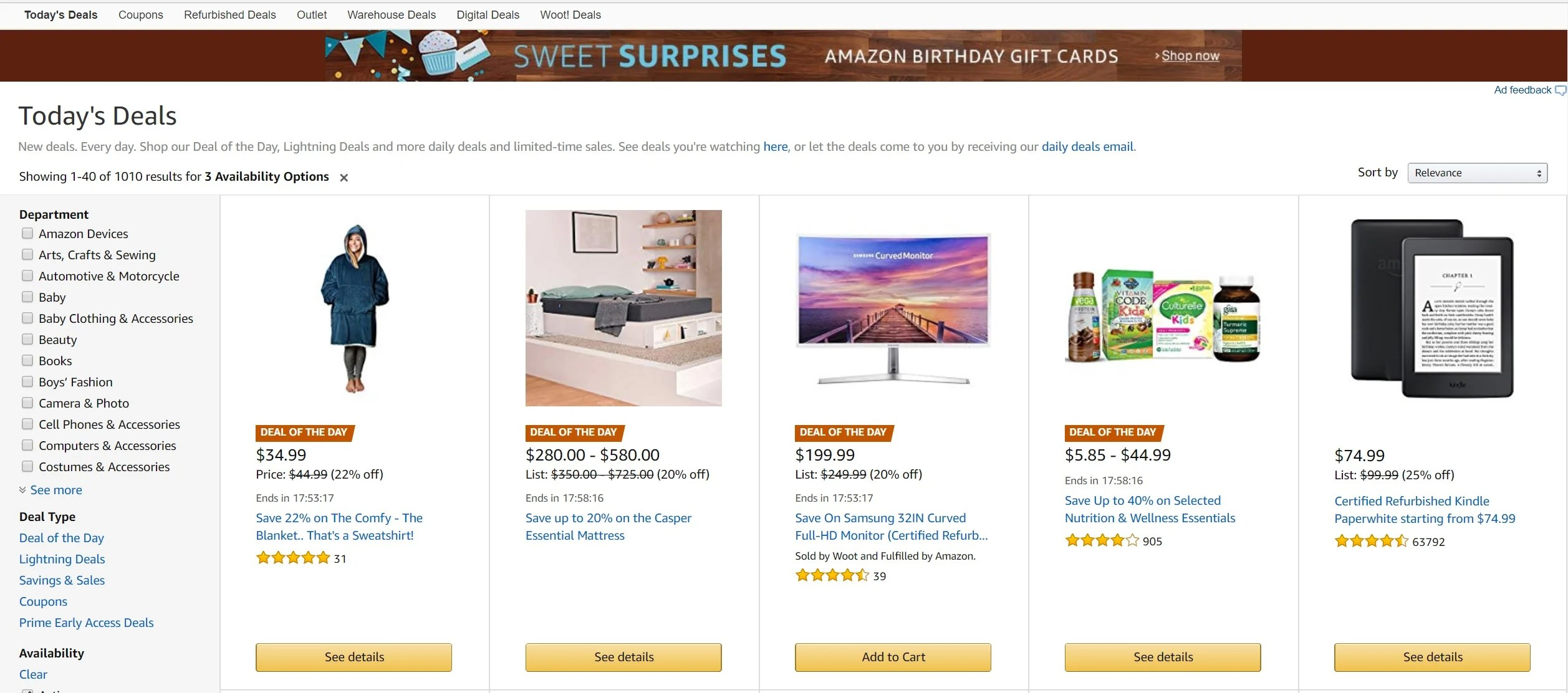 what is amazon lightning deal and how