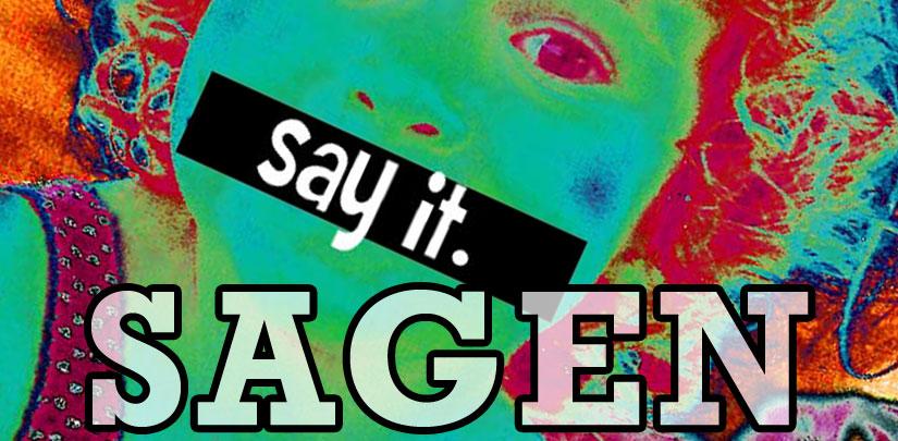 Sagen (to Say) - Wort des Tages