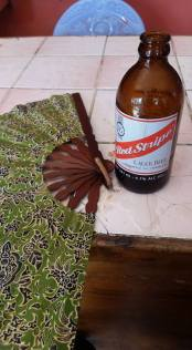 Red stripe after training on a Friday