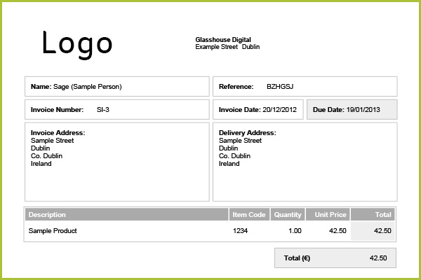 uk vat invoice template – neverage, Invoice examples