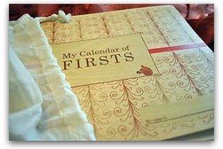 My Calendar of Firsts • Sage Parnassus