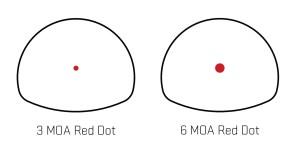 SIG Sauer Romeo3 Max 1x30mm 3 or 6-MOA dot