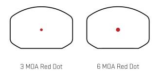 SIG Sauer Romeo3 XL 1x35mm 3 or 6-MOA dot
