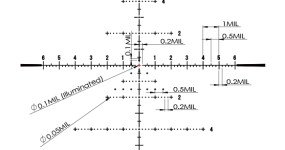 March 5-42x56 FFP FML MT reticle diagram