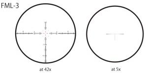 March Genesis 4-40x52 FFP FML-3 reticle