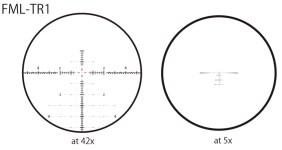 March Genesis 4-40x52 FFP FML-TR1 reticle