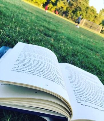 Enjoying the Fresh Air with a Good Book