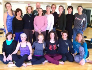 Last year's teachers' intensive group