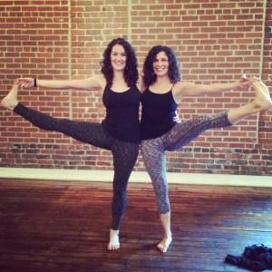 Me and Alexandra, whom I lovingly call my understudy