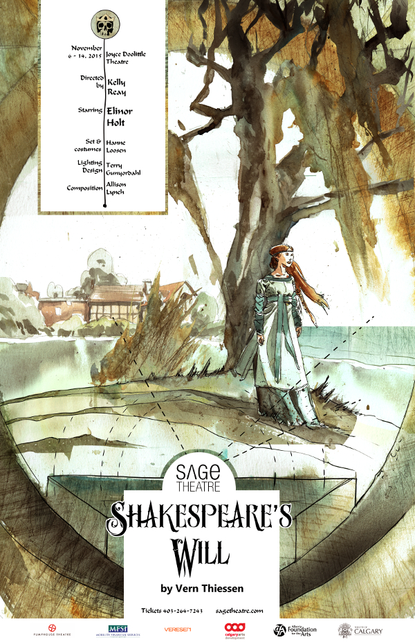 Shakespeares will web poster