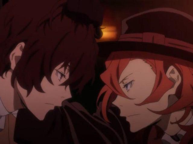 男性 二人 にらみ合い 帽子