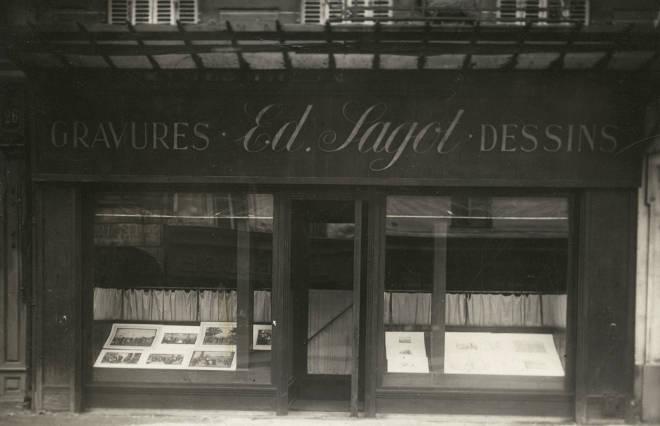 Galerie Edmond Sagot, estampes & dessins