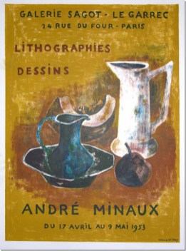 André Minaux - Avril 1953