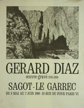 Exposition Gérard Diaz - Mai 1980