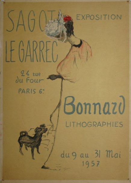 Exposition Pierre Bonnard - Mai 1957