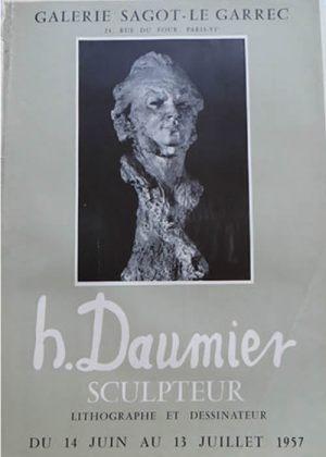 Exposition Honoré Daumier - Juillet 1957