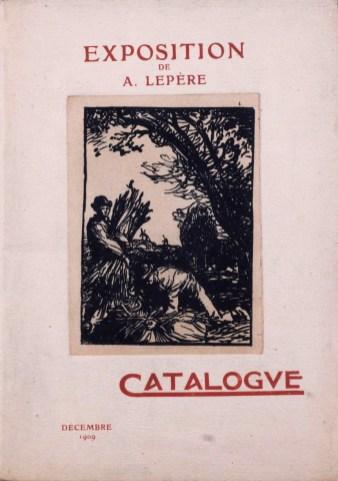 Exposition Auguste Lepère - Décembre 1909