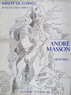 Exposition André Masson - Février 1969