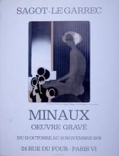 Exposition André Minaux – Octobre 1978