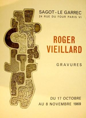Exposition Roger Vieillard - Octobre 1969