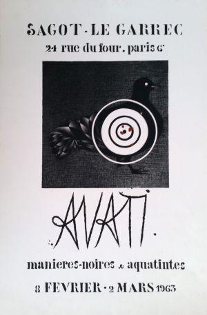 Exposition Mario Avati - Février 1963