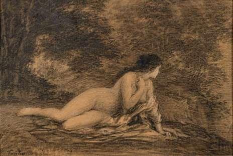 Henri Fantin-Latour - Ariane abandonnée