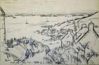 André Jacquemin - Chemin vers Porz Leien, île de Batz