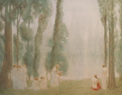 Alfredo Müller - L'île heureuse - 1902